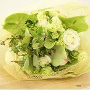 緑がノスタルジックな花束 送料無料!2
