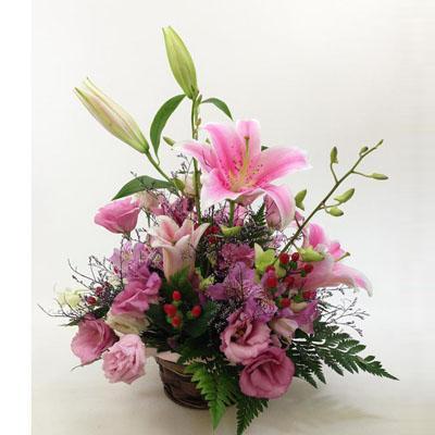 フラワーアレンジメント【花の南福花園オリジナル】