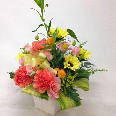 フラワーアレンジメント【花の南福花園オリジナル】2