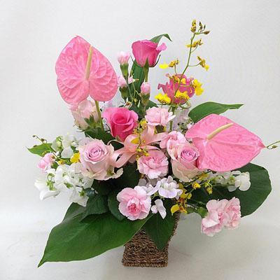 アレンジメント【花の南福花園オリジナル】